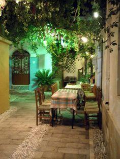 Taverne Giannis in Koskinou, Rhodes - Abendessen