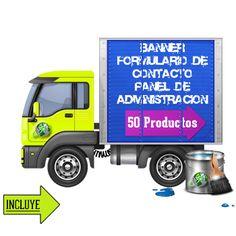 tienda online Trucks, Pereira, Page Layout, Design Web, Store, Truck