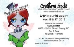 Attention artists and creative peeps! Upcoming art events you don't want to miss!