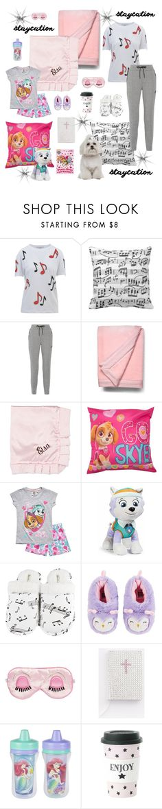 """Auntie Haley babysitting Little Miss MaeBug"" by tarakaypoly ❤ liked on Polyvore featuring STELLA McCARTNEY, Music Notes, NIKE, UGG Australia, Swankie Blankie, Everest, Leisureland, Carter's, Glitzy Bella and Miss Étoile"