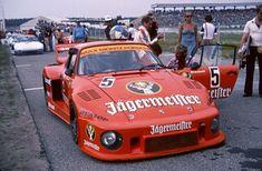 Manfred Schurti und sein Max Moritz Porsche 935 in Hockenheim 1978