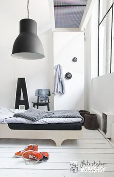 A teen bed from Rafa-kids - styling/photo Paulina Arcklin