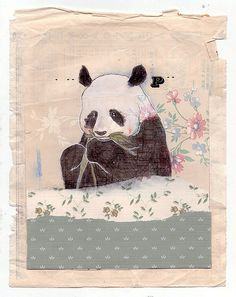 panda ~ sometimes I like to find pretty pics of my pants as a reminder to use my feminine energy more!