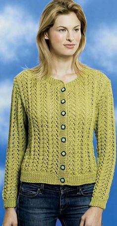 LACE CARDIGAN PATTERN