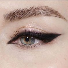 "17.9k Likes, 37 Comments - Lime Crime (@limecrimemakeup) on Instagram: ""Simple but effective. ⚫ Smudged wing liner via @katiejanehughes"""
