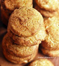Ciasteczka cynamonowe z orzechami Food Cakes, Cake Recipes, Sweets, Cookies, Breakfast, Photography, Ideas, Gourd, Kuchen