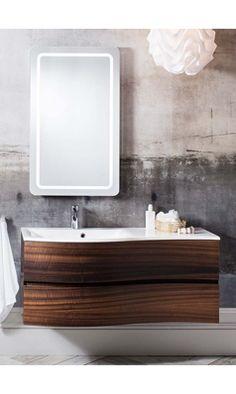 Crosswater Svelte Wall Hung Corner Vanity Unit with Basin - White Gloss Modern Bathroom Cabinets, Bathroom Vanity Units, Wall Mounted Vanity, Bathroom Furniture, Small Bathroom, Bathrooms, Bathroom Wall, Corner Vanity Unit, Corner Sink