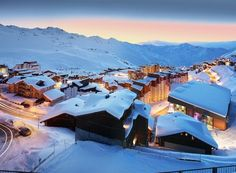 View on Val Thorens from the terrace of Hotel Koh-I Nor 5*
