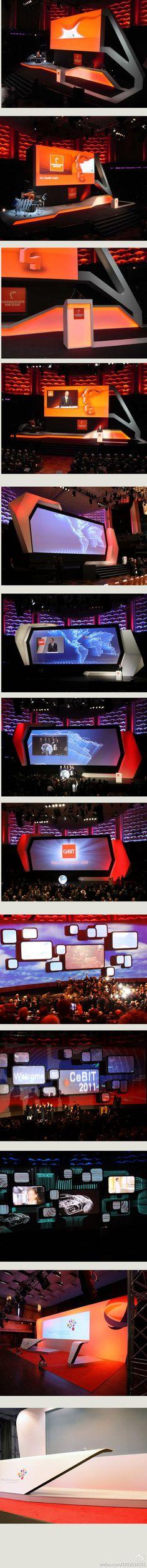 """会场""""舞台""""的造型与灯光设计,柏林。。。..."""
