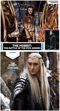 """3 new stills from """"the hobbit: the battle of the five armies"""""""