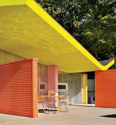 Inspiration contemporaine architecture 50's
