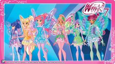 All of The Winx Tynix in the Diamond Mini-World