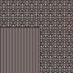 Download Digital Paper Pack Damask & Swirls Dark Grey & Pale Pink Online | Gidget Designs