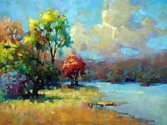 Spectacular Day by Trisha Adams Oil ~ 30 x 40