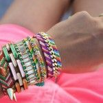 Now this would make me more than happy to wear all those bracelets my daughter makes for me