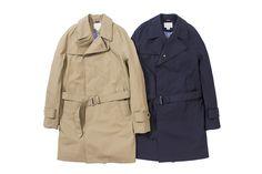 nanamica GORE-TEX trench coat