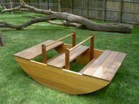 Living Wood boat rocker