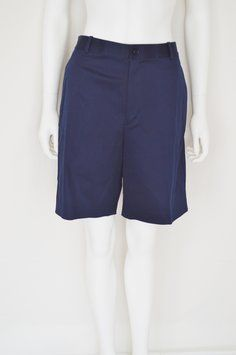 Ralph Lauren Golf Yacht Summer Poplin Bermuda Shorts Navy Blue