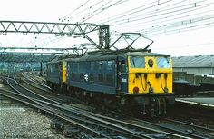 76011/76014 Guide Bridge 9.6.77 | George Woods | Flickr Electric Locomotive, Diesel Locomotive, Train Pictures, Electric Train, British Rail, Manchester, The Unit, English, London
