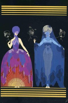 Erté: Evening & Night