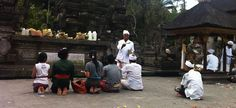 Templo em Bali, Indonésia.