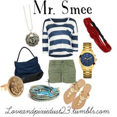 """""""Mr. Smee"""" by loveandpixiedust on Polyvore"""