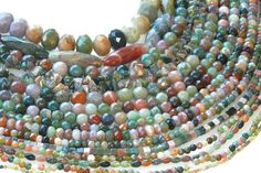 "More beads you will find at your next Rings  Things Bead Show. These are ""Fancy Jasper"" also known as ""India Agate."""
