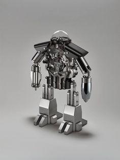 O robô relógio