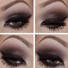 Check out these pretty peepers - http://dropdeadgorgeousdaily.com/2014/03/dramatic-eye-makeup-2/