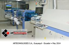 SMT Assembly Line ARTechnologies S.A. Installation - Reflow Oven, Pick and Place, Stencil Printer