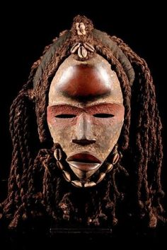African Tribal Mask Liberia