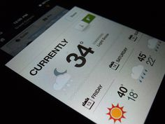 22 Beautiful iOS App Concepts from Dribbble