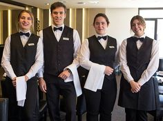 Staff Dressed In Proper Work Uniforms With Black Bow Ties | Flickr