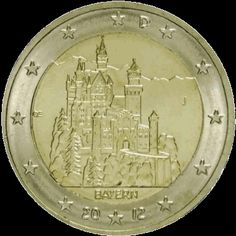 Euro Währung, Euro 2012, Euro Coins, Commemorative Coins, World Coins, Coin Collecting, Bronze, Stamp, Money