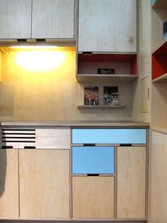 Kerf: Custom FSC-Certified Plywood Cabinets & Furniture ICFF 2010 | Apartment Therapy