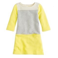 Girls' maritime dress in colorblock #jcrew #crewcuts  I can make this.