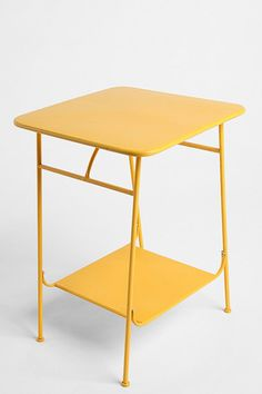 Yellow Factory Side Table