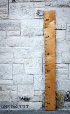 Ruler Growth Chart - I wish I had had one when the girls were little.  But, a great gift to a new baby