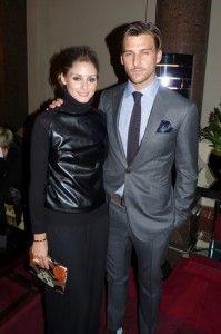 Olivia Palermo and Johannes Huebl at Basler Fashion Show (Hotel de Rome in Berlin - January 2012)
