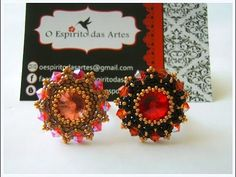 DIY - Ring with Rivoli and Bicones - YouTube