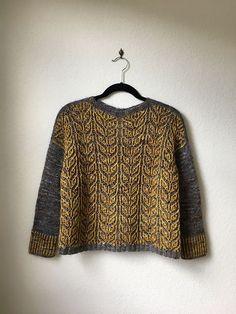 Ravelry: Purlificknitter's Broadleaf - Test Winter Knitting Patterns, Knitting For Beginners, Knitting Projects, Ravelry, Knitwear, Men Sweater, Wool, Sweaters, Fashion