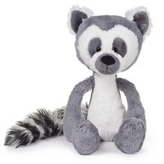 Animal trends, such as this Toothpick Lemur from GUND, are popular when welcoming the birth of a little boy or girl. Baby Trends - Gift Shop Magazine @GUND #baby #plush #trends #nursery
