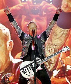 Metallica James Hetfield May 29 Gelsenkirchen Germany 2015