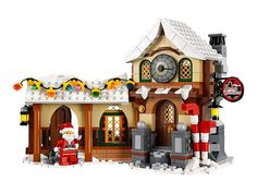 Lego Christmas Sets, Lego Christmas Village, Lego Winter Village, Christmas Town, Christmas Lights, Christmas Ideas, Holiday, All Lego, Gifts
