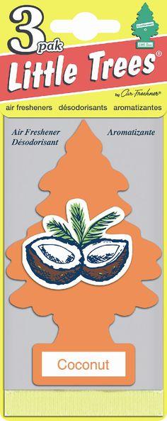 Car Freshner Little Trees Air Freshener 3 pack Coconut