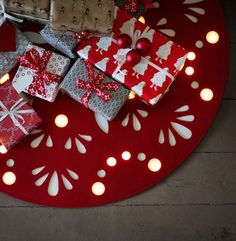 strala carpets christmas tree led light 35 euros plastic and polyester red color ikea - Tapis Color Ikea