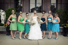 Photo by Kelly T. #MinnesotaWeddingPhotographer #Bridesmaids