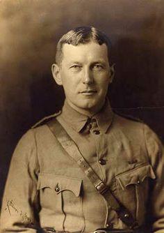 John Murchison | McGill field surgeon John McCrae, c. 1914. / Photo courtesy of the ...