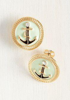 Sail Aweigh Earrings, #ModCloth