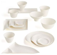 Shinichiro Ogata \u0026 SIMPLICITY\u0027s Wasara Biodegradable Tableware Disposable dishes with fantastic design appeal!  sc 1 st  Pinterest & Biodegradable Tableware | SCD Research // green packaging ...